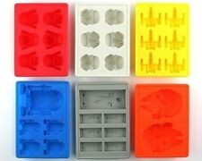 Star Wars Ice Tray Pudding Jelly Chocolate DIY Mould Silicone(A set of 6)