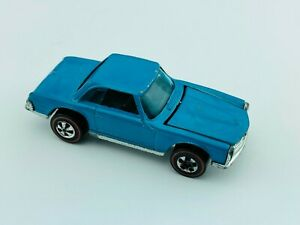 Hot Wheels Redline MERCEDES BENZ 280SL Light Blue Enamel EX/NM 1973 !!! WOW !!