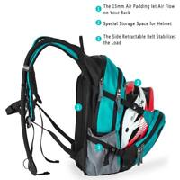 WindSeeker 18L Hydration Cycling Backpack Pack with 2.5L Water Bladder Nylon New
