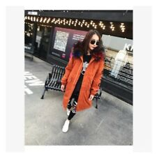 Chic Women Fur Hooded Floral Thicken Warm Winter Outwear Coat Jacket Embroidery