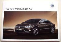 Volkswagen . CC . The new Volkswagen CC . April 2012 Sales Brochure