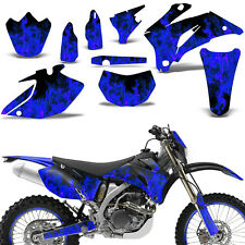 Yamaha WR250F 250F 07-14 WR450F 450F 07-11 Graphic Kit Dirt Bike Decals ICE BLUE