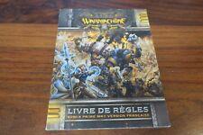 WARMACHINE  LIVRE DE REGLES  REMIX PRIME MKII    --  LIVRE EN FRANCAIS