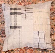 (50*50cm, 20inch) Genuine Turkish handwoven kilim cushion patchwork/whitecheck13
