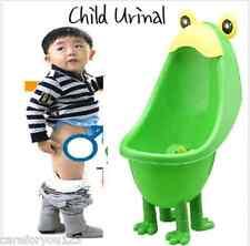 Kids Toddler Children Frog Potty Urinal Toilet Training Boy Bathroom Pee Trainer