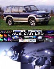 Holden Jackaroo 2001 White LED Interior Light globe bulb upgrade Kit (6pcs)