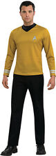 OFFICIALLY LICENSED STAR TREK MOVIE CAPTAIN KIRK ADULT COSTUME MENS SIZE SMALL