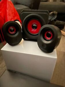 Mars Gaming MSX, PC Speakers 35W, 5 Multimedia Modes, 2.1 Subwoofer, used