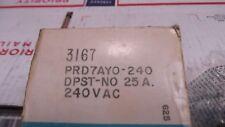Potter & Brumfield PRD7AY0-240V HD Power Relay 1200 OHM DPST-NO, 9.8VA, 25A