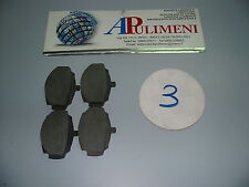 SERIE PASTICCHE FRENO(BRAKE-PADS)ANT. MG CABRIOLET 1.8  GT