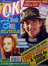 OK! 1990: Les 18 ans de VANESSA PARADIS_PATRICK BRUEL_LES VAGABONDS