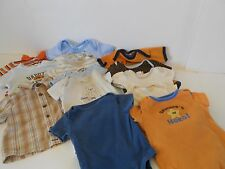14 Pc. Lot Infant Boy 3-6 Mo.'s,Spring/Summer 3 Sh. Sl. Shirts 11 One Piece Tees