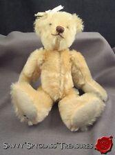 Belinda Nesler #8 Artist Mohair Teddy Bear Jointed Button Eyes Felt Hands & Feet
