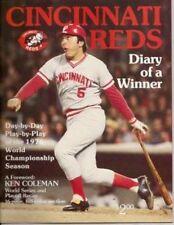 CINCINNATI REDS 1976 DIARY OF A WINNER JOHNNY BENCH PETE ROSE BIG RED MACHINE