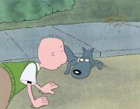 DOUG FUNNIE Original Production Cel Animation Art Nickelodeon COA Porkchop 1990s