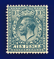 1924 SG428 10d Deep Greenish Blue N44(2) MNH Cat £100 cfxi