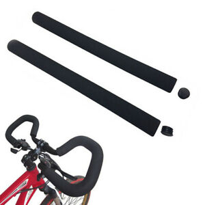 UK ! EXTRA LONG SMOOTH HANDLE BAR FOAM GRIP COVER FOR PUSHCHAIR BUGGY STROLLER