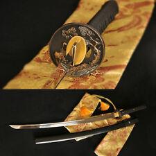 Hand Forged Real Katana Sword Samarai Japanese Full Tang Blade 1060 Steel Sharp