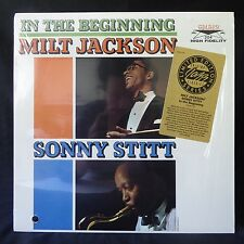 MILT JACKSON SONNY STITT In The Beginning GALAXY LTD EDITION SHRINK WRAP LP NM