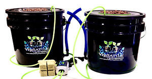 DWC hydroponic system Kit 3.5 G 2 Pk Indoor/outdoor, Stay Home And Grow Ur Own