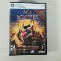 Age of Empires III PC Game Complete Collection 5 Disks Rated T 2009