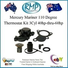A Brand New Mercury Mariner 110 Degree Thermostat Kit 3Cyl 40hp-60hp # 850055A