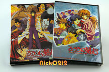 Rurouni Kenshin Complete TV 1-95 Episodes 10 Anime DVD Collection Samurai X New