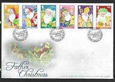 GB Isle of Man 2009 FDC Christmas fine used stamps