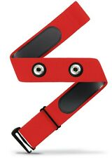 Heart Rate Monitor Soft Strap Replacement | Universal Replacement (Red, M-XXL)