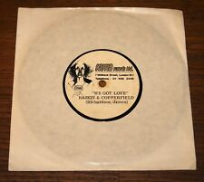 """BASKIN AND COPPERFIELD WE GOT LOVE ONE WOMAN BAND RAMA ACETATE 7"""" THE RUBETTES"""