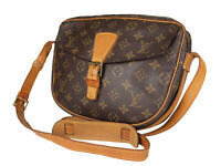 LOUIS VUITTON Jeune Fille Monogram Canvas Crossbody Shoulder Bag LS3457