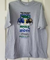AHL Whale Bowl 2011 XL T shirt - P Bruins vs CT Whale - NWOT
