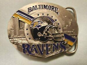 Siskiyou 1999 Limited Edition NFL Baltimore Ravens Belt Buckle NFL Free Shippin