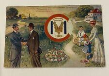 Royal Arcanum VMC 1105 Fraternal Insurance Society Postcard - Postmarked 1913