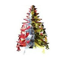 Foil Tree With Bells Christmas Decoration Garland Ceiling Festive Wall Party