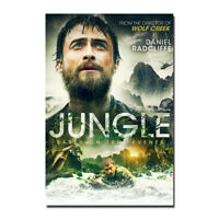 Jungle Movie Greg McLean Daniel Radcliffe Canvas Poster 12x18 20x30inch