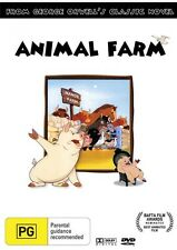 ANIMAL FARM DVD (1954) * George Orwell Novel * REGION 4 Brand New!