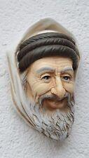 Büste Araba Kopf Arab Wandmaske Oriental Wandbild Figur Skulptur Deko