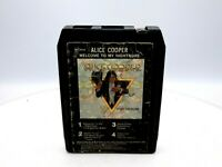 Alice Cooper - Welcome To My Nightmare 8-Track Tape 1975