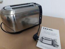Toaster Tefal Edelstahl mit zwei Schlitzen Modell 532431