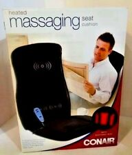 Heated Massaging Seat Cushion Conair with Remote