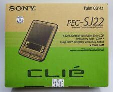New Sony Clie Peg-Sj22 Handheld Pda Personal Entertainment Organizer Palm Os 4.1