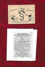 Muratti (Berlin) football referee comic card, probably 1936 Olympic Games series