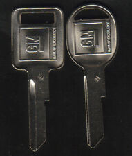 Buick Cadillac Chevy Oldsmobile Pontiac 1969 1973 1977 1981 GM Key Blanks