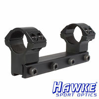 "*Hawke Match Rifle Scope 1 PIECE Mount Ring - 1"" ring HIGH 9-11mm base - 22105"