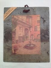 Vieux Carre' 175 Yr Old Slate Brulator Court Yard In France By Archie Boyd (A26)