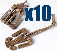 Genuine ITW Web Dominators Web Doms X10 Coyote Brown Webbing UK Seller