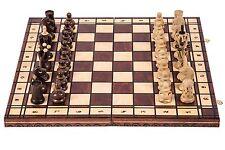Schach Schachspiel - ROYAL 48 - Schachbrett und Schachfiguren aus Holz