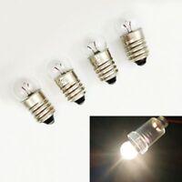 Mini E10 LED Screw Base Indicator Bead Bulb Torch Flashlight Experiment Lab Lamp