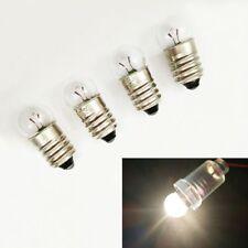 Wholesale 5/10x Mini E10 LED Screw Base Light Bulb 2.5V/0.3A Flashlight Lab-Lamp